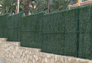 artificial grass wall for privacy screen