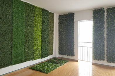 SUNWING artificial hedge plants Sample Room