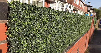 Artificial Boxwood For Fence Decor
