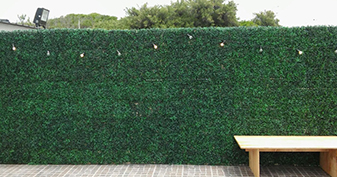 Artificial Boxwood Hedges For Privicacy Screening