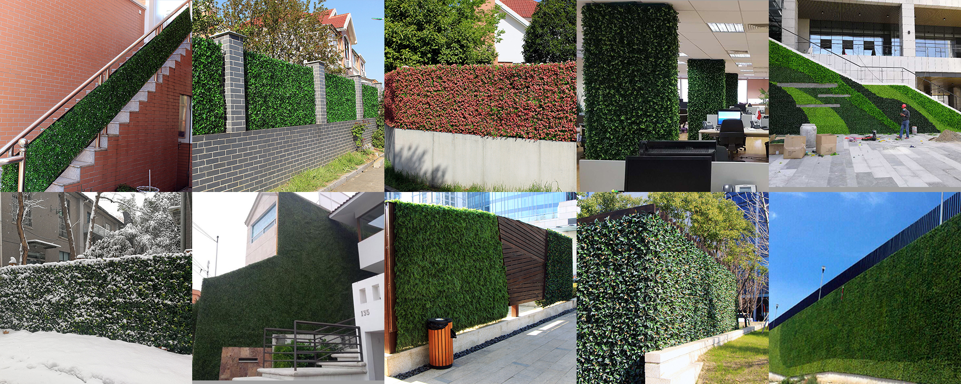 Artificial Boxwood Pea Leaf Hedge Mat Faux Fence Topiary Screen For Outdoor Artificial Green Walls Color Cable Tie Dimensions 1 Pcs Wall Decor Nursery Baby Nursery