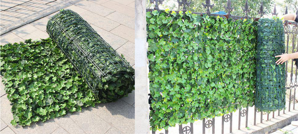 how to fix artificial ivy foliage mats