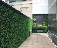 artificial boxwood hedge screen for swimming pool privacy screen