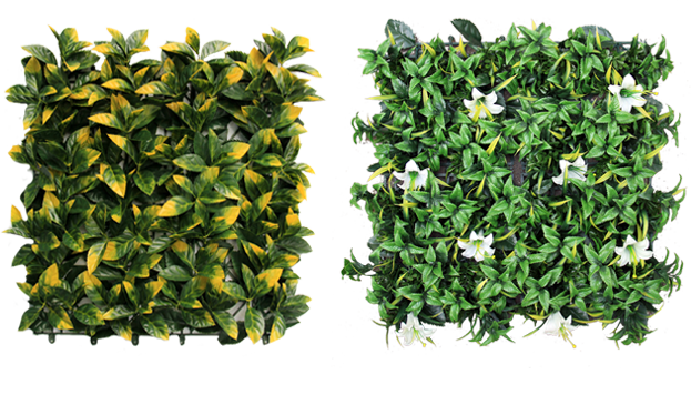 artificial foliage mat G0602A025 & G0602A037