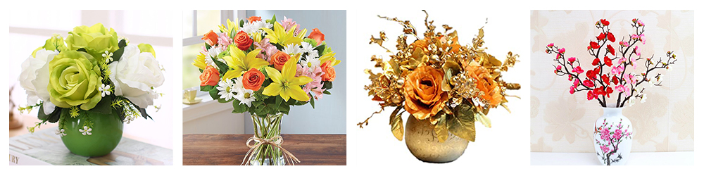 Different styles of artificial flowers decoration.jpg