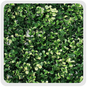 artificial box hedge, G0602A006,white & green