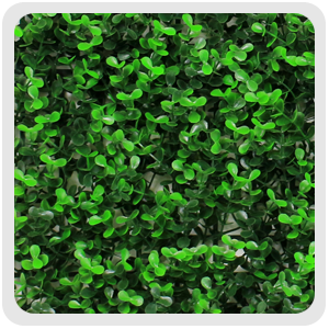 artificial boxwood greenery panels, G0602A006,green