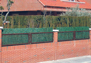 artificial grass screen