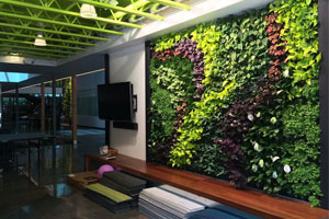 artificial foliage panels for vertical garden
